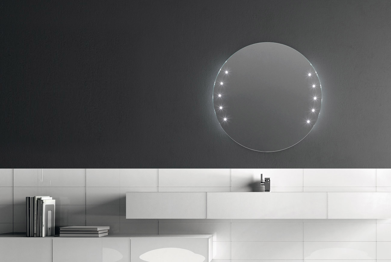 Argento - Info - Bathroom, Design, Bathroomu0026#39;s furnishings, LED lighting mirrors, Mirrors ...